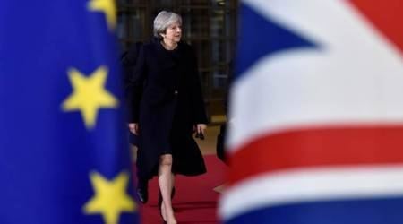 Theresa May wins applause from European Union leaders for Brexit efforts