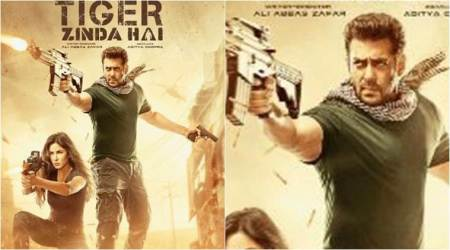 Tiger Zinda Hai new poster: Salman Khan and Katrina Kaif are geared up for its Friday release