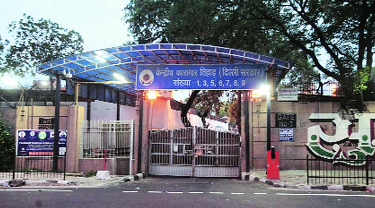 Tihar jail, Tihar jail complex, Delhi government, Delhi News, Indian Express, Indian Express News