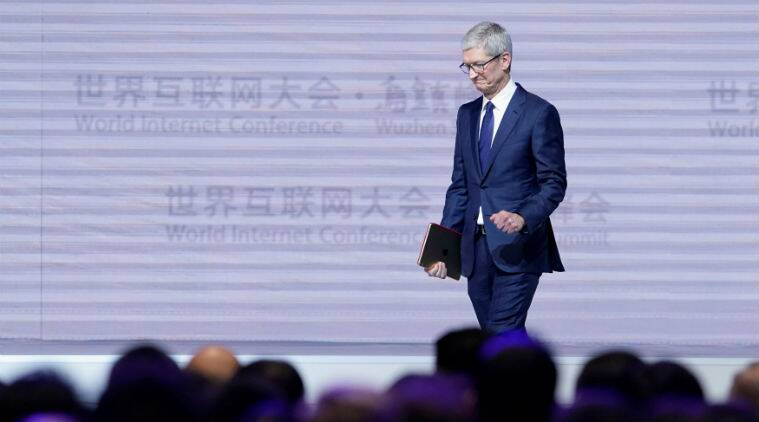 China's World Internet Conference saw sessions include Apple's Tim Cook and Google's Sundar Pichai, at a time when Chinese web surveillance is on the rise.