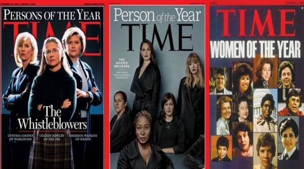 time magazine, time person of the year, time woman of the year, time poty woman, woman time magazine cover, sexual harrasment, time 2017 person of the year, indian express, women in power