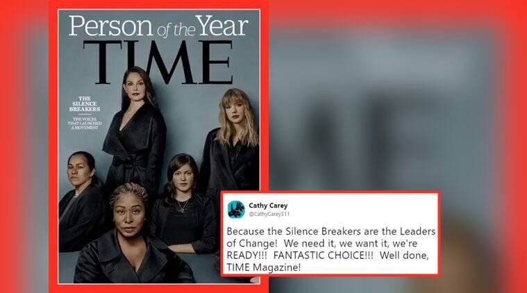 MeToo campaign, Time Magazine, Time magazine Person of the Year 2017, Person of the year 2017, Indian express, Indian express news