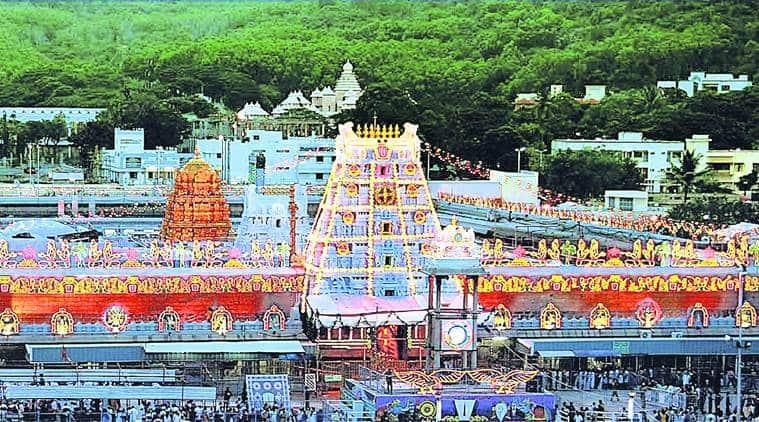 tirumala tirupati, andhra pradesh, tirupati trust, non hindu staff in temples, ttd, lord venkateshwara temple, indian express