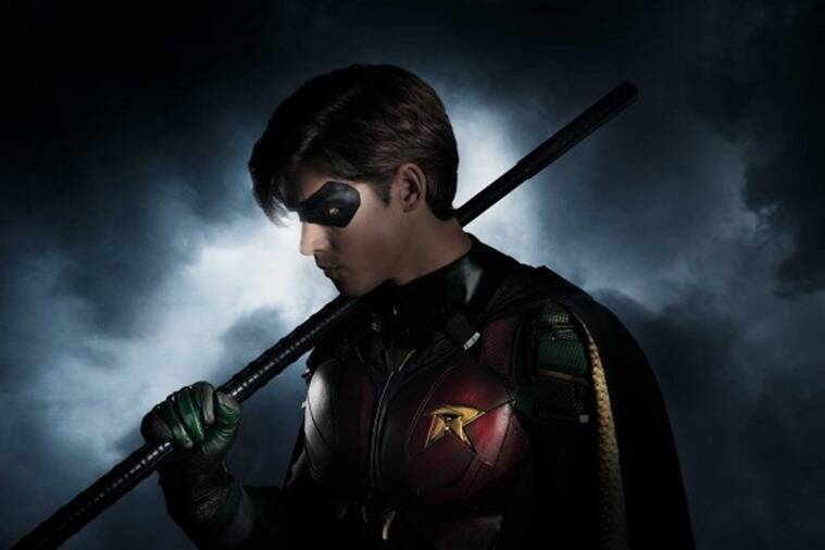 brendan-thwait as robin in titans dc
