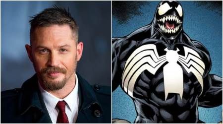 Why Tom Hardy is perfect as Venom, explainsproducer