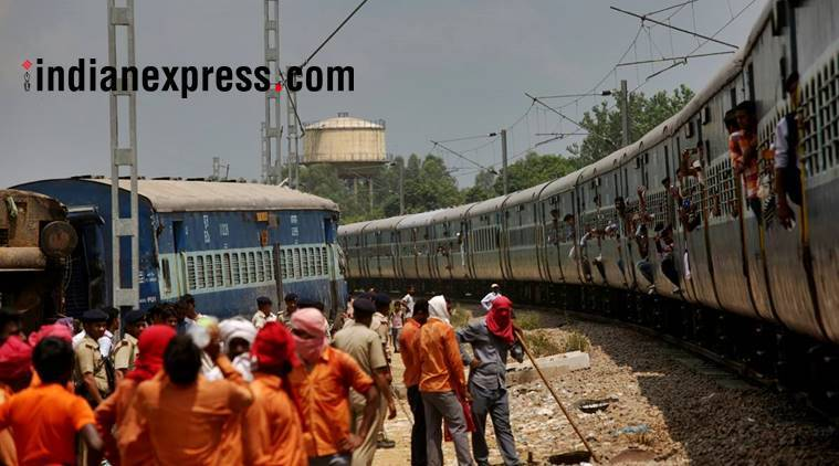 irctc, cancelled trains, indian railways, belapur, seawoods, uran railway project, badlapur, central railways, indian express