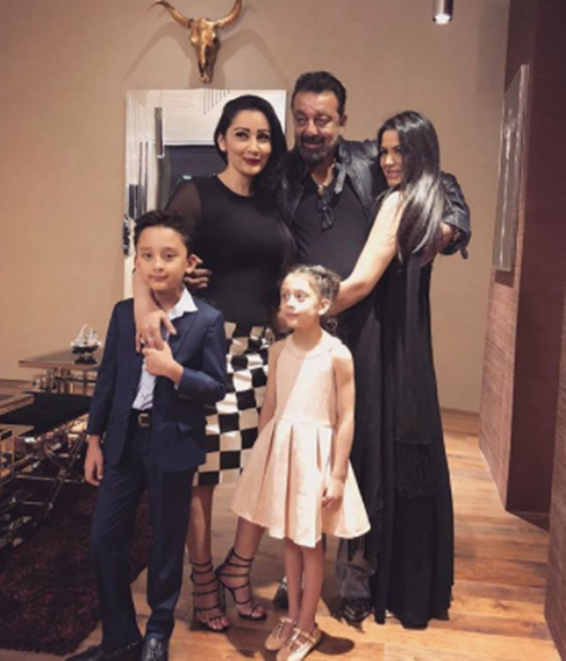 Sanjay Dutt had the perfect New Year bash with wife