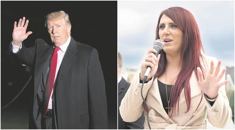 Donald Trump supports Britain First