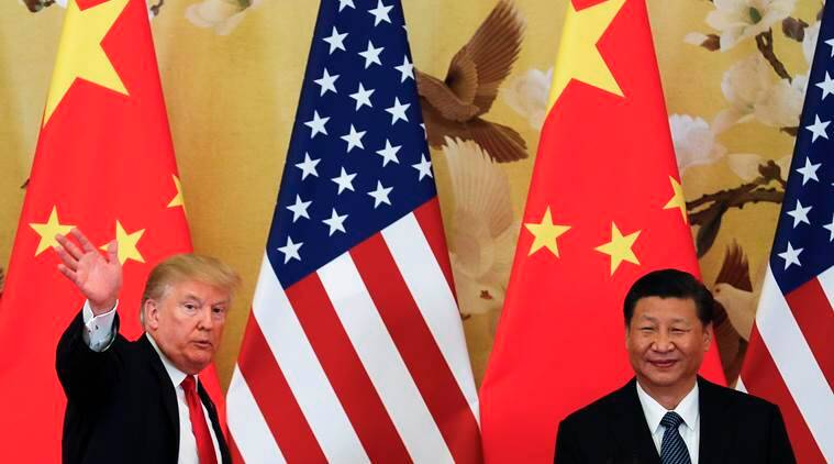 US President Donald Trump with Chinese President Xi Jinping. (File)