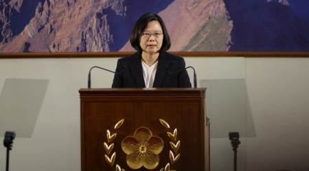 Taiwan President Tsai Ing-wen says island's defence budget to grow, given China pressures