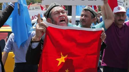 Anger with China drives Uighurs to Syrian war