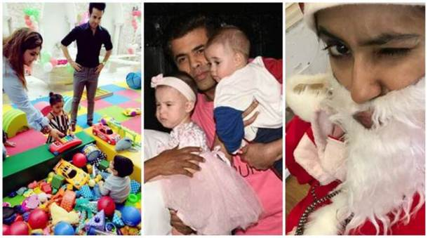 Inside Tusshar Kapoor's Christmas party, Yash-Roohi Johar and other kids have a fun time