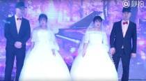 Seeta-Geeta and Ram-Shyam rolled into one as TWIN brothers marry TWIN sisters (WATCH VIDEO)