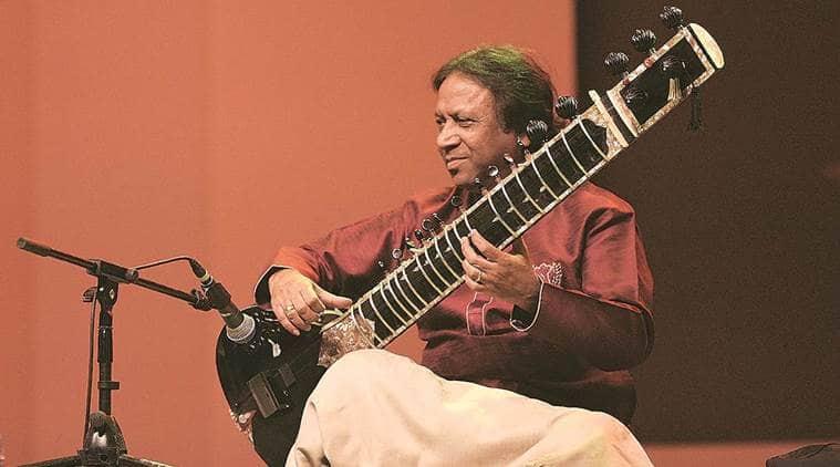 Ustad Shahid Parvez Khan,Bengal Classical Music Festival 2017, dhaka, bengal music fest, dhaka bengal music fest, dhaka music fest 2017, indian classical, bengali classical music, ustad vilayat khan, indian express