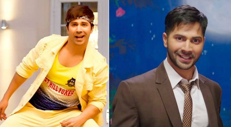 Varun Dhawan was seen in Badrinath Ki Dulhania and Judwaa 2.