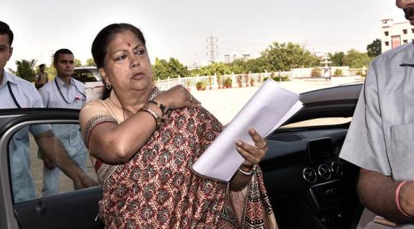 Vasundhara Raje's Rs 4.54 crore largely the same as in 2013