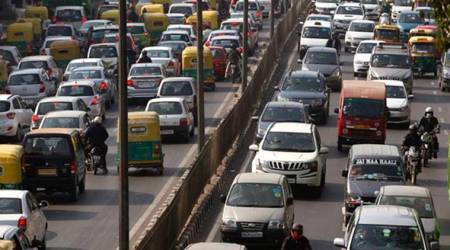 Gujarat government, Gujarat government school teachers, Motor Vehicles Act, Motor Vehicles Act 2019, Gujarat Motor Vehicles Act, Motor Vehicles Act Gujarat, India news, Indian Express