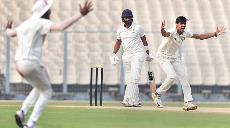 Vidarbha beat Karnataka by 5 runs to make way to the finals.