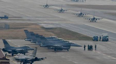 US B-1B bombers to fly over Korean peninsula: reports