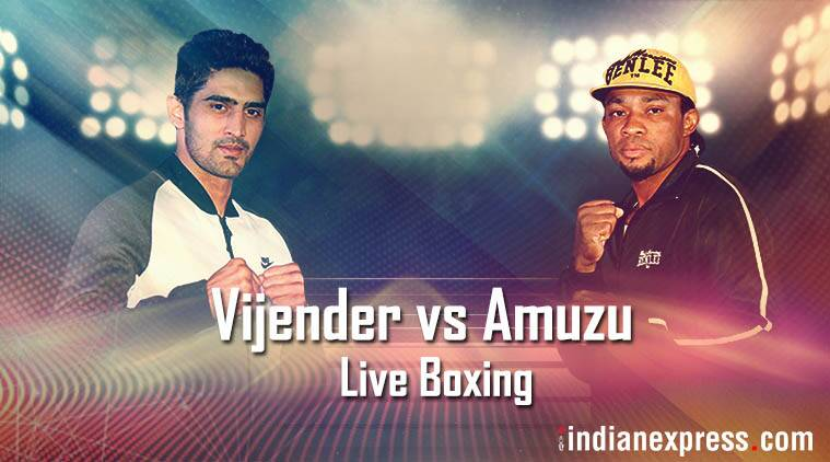 Vijender Singh Beats Ghana's Ernest Amuzu To Defend Belts
