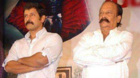 Actor Vikram's father passes away