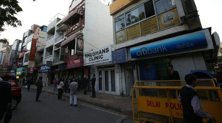 defence colony, delhi, delhi news, indian express, MCD, delhi police, sealing drive