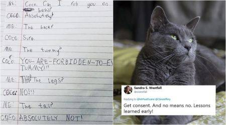 This 10-yr-old girl's interview with her cat is going viral, and it has an important message