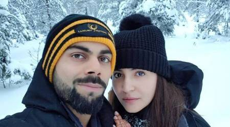 Virat Kohli and Anushka Sharma enjoy in snowy Italy after wedding