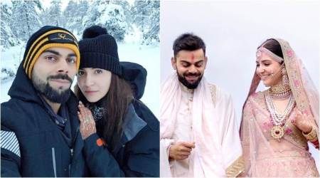Anushka Sharma shares first photo from her honeymoon, says she is 'inheaven'
