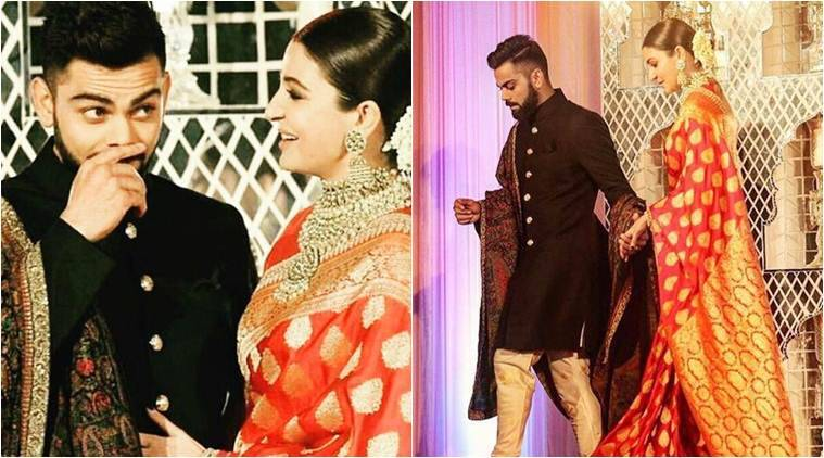 Anushka Sharma and Virat Kohli dazzle at their New Delhi reception