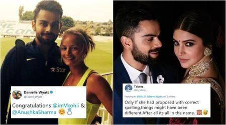 Here's how the British cricketer who had once 'proposed' to Virat Kohli reacted to his wedding with Anushka Sharma