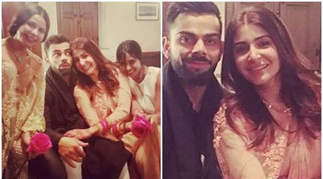 Virat Kohli, Anushka Sharma's latest pictures are too cute to miss
