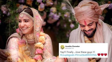Virat Kohli, Anushka Sharma tie the knot in Italy; Twitterati can't contain their excitement