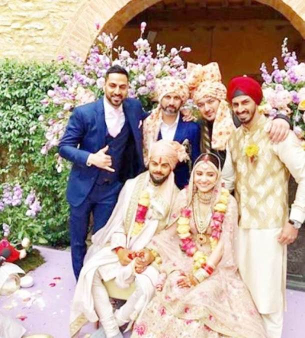 Virat Kohli, Anushka Sharma back in Delhi for wedding reception, must-see photos