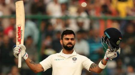 Virat Kohli becomes first captain to score three consecutive tons in three-match Test series