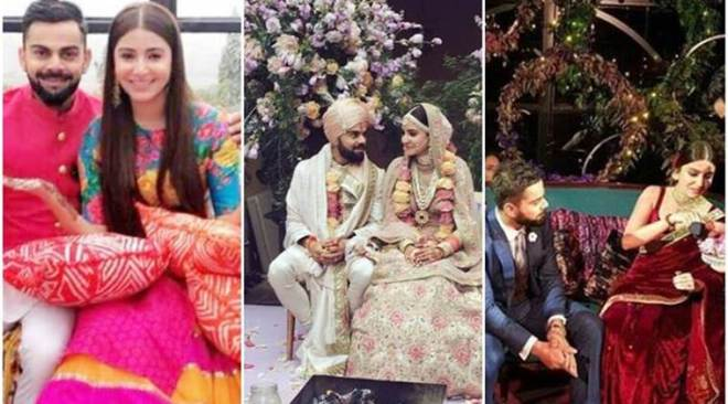 Virat Kohli-Anushka Sharma wedding album: Elegant setting, classy ring ceremony and 'desi mehendi'