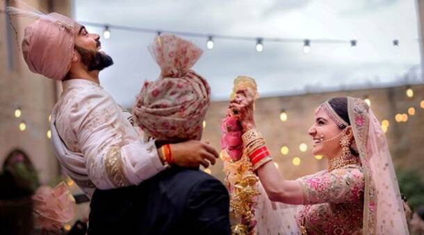 Hitched: Sports stars who tied the knot in 2017