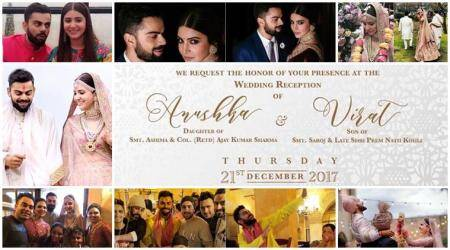 Virat Kohli-Anushka Sharma reception: Guest list, venue, date, time