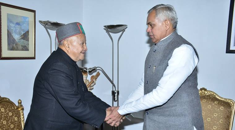 CM Virbhadra Singh resigns as BJP set to form govt in state