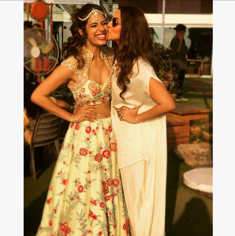 VJ Gaelyn Mendonca wedding Neha Dhupia, Rannvijay Singha inside photos
