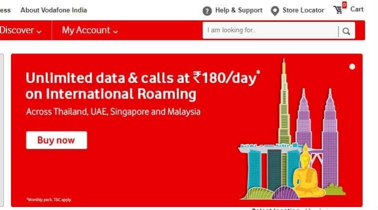 Vodafone international roaming iRoamFREE Thailand New Zealand how to activate