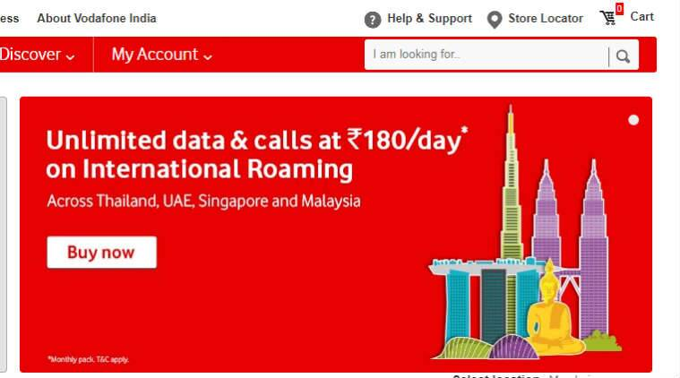 Vodafone international roaming benefits launched for