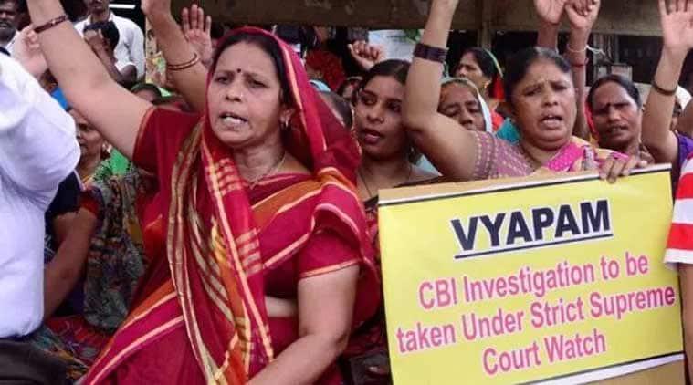 Vyapam case, madhya Pradesh, madhya Pradesh Vyapam scam, Vyapam scam, CBI, CBi chargesheet, OMR sheets, indian express news