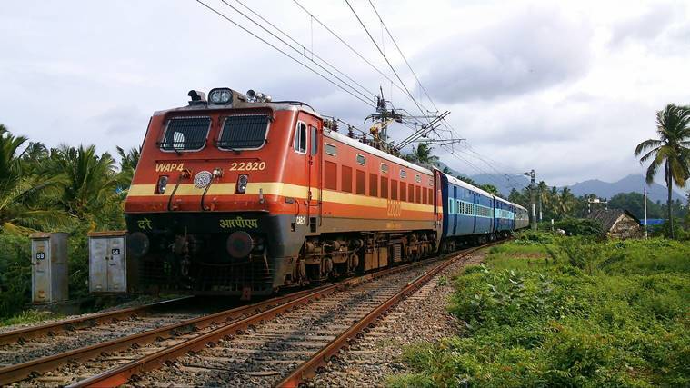 Passenger traffic in Indian Railways grew by 0.7 per cent in 2017-18