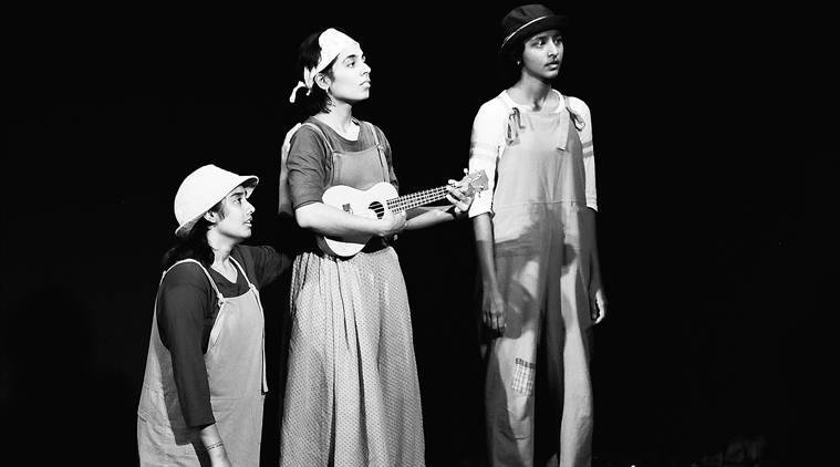 The Water Princess play, V Balakrishnan's Theatre Nisha, International Festival of Theatre for Young Audiences (TIFLI) , Royal Court Theatre, London, National School of Drama, indian express news