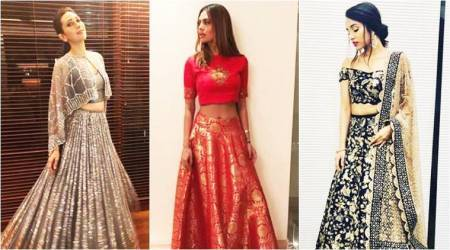 Karisma Kapoor, Esha Gupta, Shraddha Kapoor give us style inspirations in these wedding lehengas.