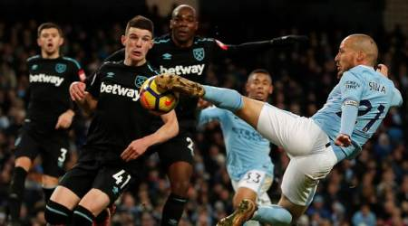 Battling West Ham 'gutted' by Manchester City defeat, says DavidMoyes