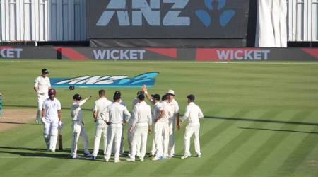 New Zealand vs West Indies: Windies in trouble after Ross Taylor record sets monumental target