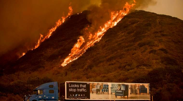 Los Angeles, California, Wildfire, California wildfire, Los Angeles Wildfire
