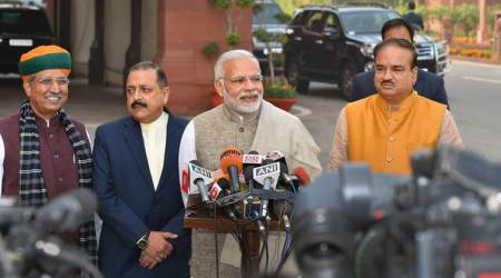 PM Modi reminds party MPs of attendance, talks of GST move